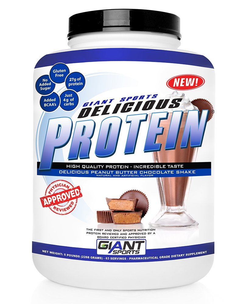 Top Guidelines For 2015 On Speedy Plans In Bodybuilding: Giant Sports Products Delicious Protein Shake, Peanut
