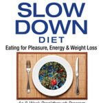 The Slow Down Diet: Eating for Pleasure, Energy, and Weight Loss [Marc David] on . *FREE* shipping on qualifying offers. A revolutionary approach to enhancing metabolism that enables lasting weight loss and facilitates spiritual well-being  • Presents an eight-week weight-loss program  • Explains how relaxed eating stimulates metabolic function and how stress hormones encourage weight gain  • Shows how fully enjoying each meal is the optimal way to a healthy body  Our modern culture revolves around fitting as much as possible into the least amount of time. As a result